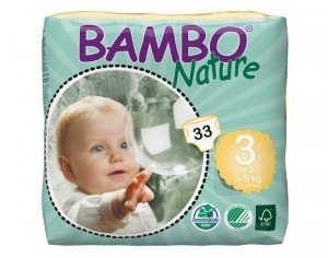 BAMBO NATURE Couches Écologiques Nature  T3 / 5- 9kg / 33 couches