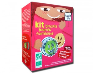 NAT-ALI Kit � Patisserie - Biscuits Fourr�s Framboise