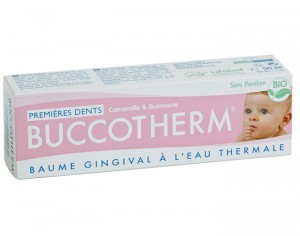 BUCCOTHERM BEBE Baume Gingival Premières Dents - 50 ml