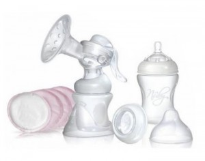 NUBY Set Tire-Lait Manuel SoftFlex