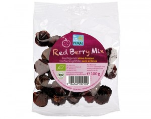 PURAL Bonbons aux Fruits Rouges Red Berry Mix - 100 g
