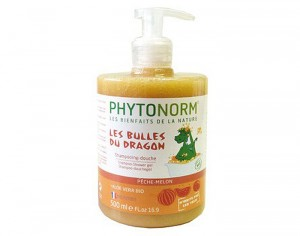 PHYTONORM Junior Shampooing-Douche - Pêche Melon - 500 ml