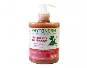 PHYTONORM Junior Shampooing-Douche - Grenade Fruits Rouges - 500 ml