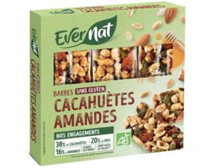 EVERNAT Barres Fruits Secs - 75g