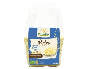 PRIMEAL Pâtes Perles Blanches - 500 g