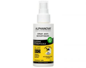 ALPHANOVA Spray Anti-Moustique Zone Tropicale - 75ml