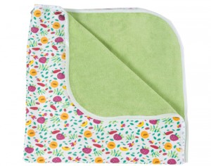 POPOLINI Tapis de Change Tropical 65 x 65 cm