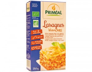 PRIMEAL Lasagnes Blanches - 250 g