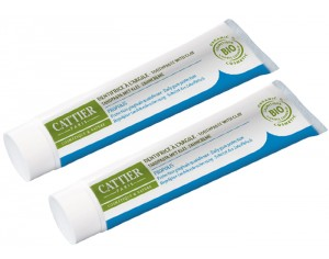 CATTIER Lot de 2 Dentifrices Dentargile Propolis - 2 x 75 ml