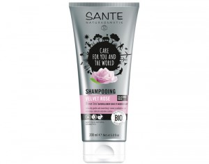 SANTE Shampooing Velours à la Rose - 200 ml
