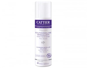 CATTIER Mini Solution Micellaire Démaquillante - Perle d'Eau - 50 ml