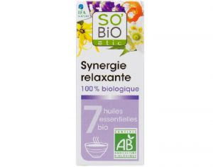 SO'BIO Synergie Relaxante pour Diffuseur - 10 ml