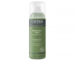 CATTIER Déodorant Homme Spray Safe-control - 100 ml