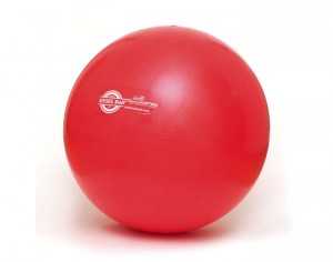 SISSEL Ballon de Gym Rouge - 55 cm