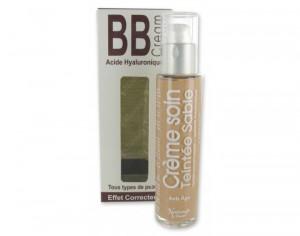 NATURADO BB Cr�me � l'Acide Hyaluronique - Sable - 50 ml