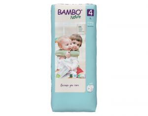 BAMBO NATURE Maxi Pack Eco x4 - Couches Jetables Écologiques T4 - 7-18 kg - 4 x 30 soit 120 couches