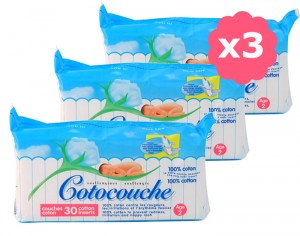 Cotocouche Anallergique - Anti-Irritations - 3 x 30 2�me �ge - d�s 5 mois - 3 x30