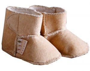 NATURESPUREST Hug Me - Bottines Velours - 0-6 mois