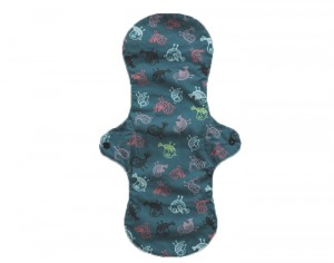 PLIM Serviette Absorbante Lavable - Blue birds Extra