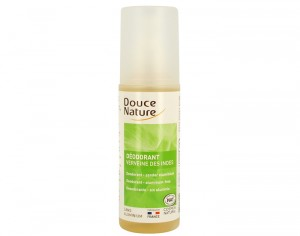 DOUCE NATURE Déodorant Spray Corporel à la Verveine - 125 ml