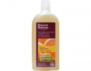 DOUCE NATURE Gel Douche Tonifiant Sans Sulfates - 300 ml