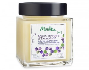 MELVITA Miel Terroirs d'Exception - Lavande - Pot de 400g