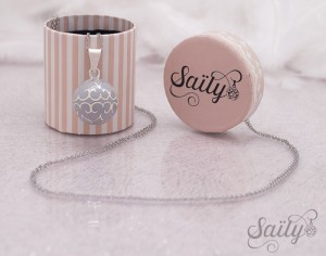 SAILY Bola Glamour - Gris