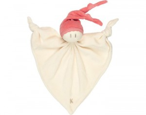 KEPTIN JR Doudou Smooz Medium - Corail