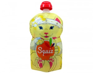SQUIZ Gourde Souple Réustilisable Chaton - 130 ml