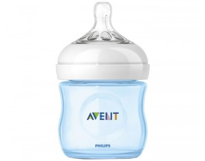 AVENT Biberon Natural Bottle Bleu - 125 ml