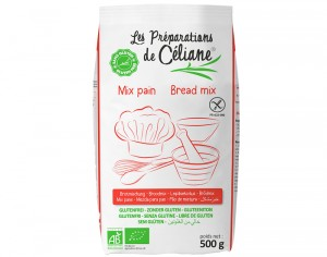 LES PREPARATIONS DE CELIANE Mix Pain - 500 g