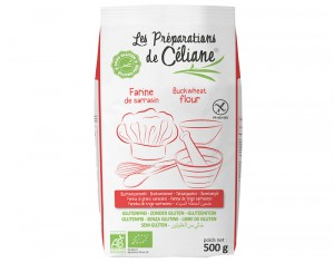 LES PREPARATIONS DE CELIANE Farine de Sarrasin - 500 g