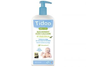 TIDOO Pack x2 Bioliniment Oléo Calcaire Sans Conservateurs - 450 ml Lot de 2