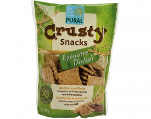 PURAL Crusty Snacks Epeautre - 110 g