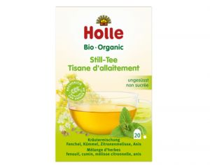 HOLLE Pack Tisane Bio d'Allaitement