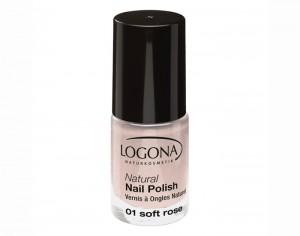 LOGONA Vernis à Ongles Naturel 01 - Soft Rose