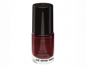 LOGONA Vernis à Ongles Naturel 02 - Deep Berry