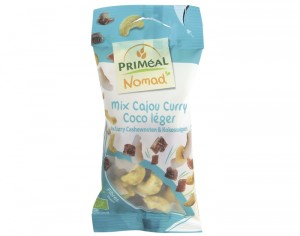 PRIMEAL Mix Cajou Curry Coco Léger - 40 g