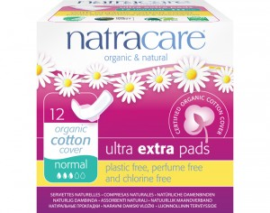 NATRACARE Serviette Hygiénique Ultra Extra à Ailettes - Normal
