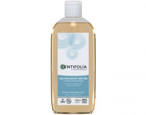 CENTIFOLIA Pack x2 Gel Moussant Neutre - 250 ml 2 flacons