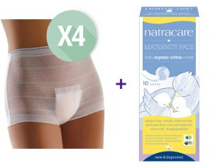 Kit Maternit� - Culottes Lavables et Serviettes Jetables Post Partum