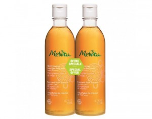 MELVITA Duo Shampooing Lavages Fréquents - 2 x 200 ml