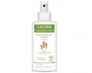 CATTIER Spray Démêlant Familial - 200 ml