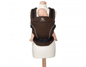 MANDUCA Porte-Bébé Physiologique Coton Bio Coffee Brown