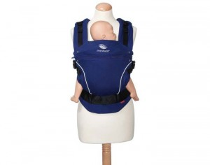 MANDUCA Porte-Bébé Physiologique Coton Bio Royal Blue