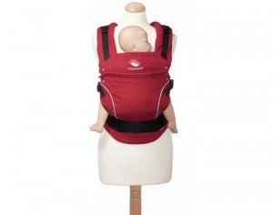 MANDUCA Porte-Bébé Physiologique Coton Bio Chili Red