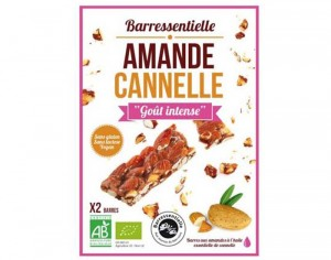 BARRESSENTIELLE Barre Amande Cannelle - 50 g