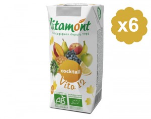 VITAMONT Cocktail Vita 12 Fruits - 6 x 20 cl