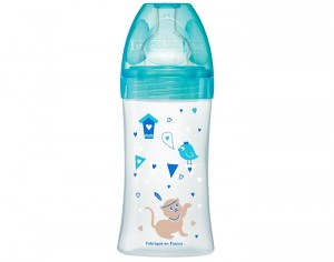 DODIE Biberon Sensation+ - Lagoon Chat - 270 ml