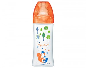 DODIE Biberon Sensation+ - Orange Forêt - 330 ml